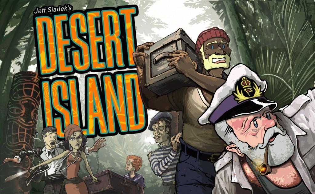 Desert Island Cover
